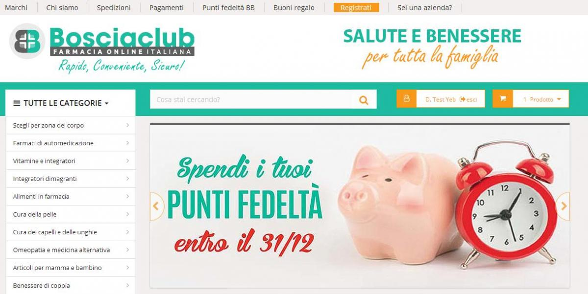 Farmacia italiana on line